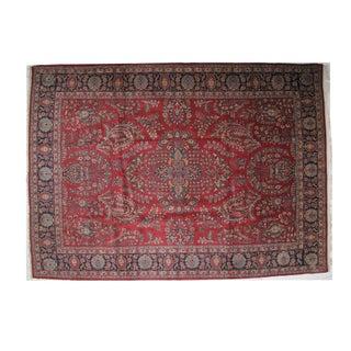 """Leon Banilivi Antique Tabriz Carpet - 12' X 8'10"""""""