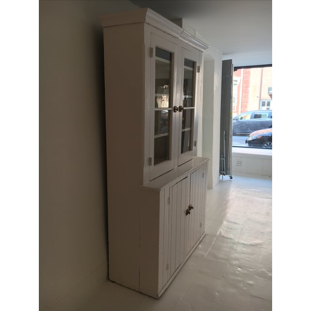 Image of Turn of the Century Painted Farmhouse Cupboard