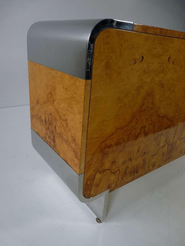 Pace Collection Burl Wood Cabinet   Image 5 Of 9