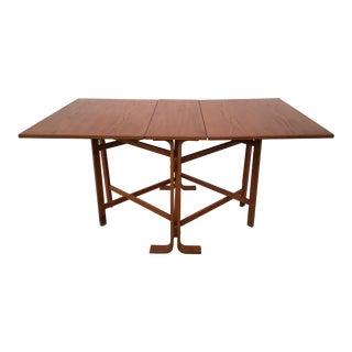 Mid Century Teak Westnofa Dining Table