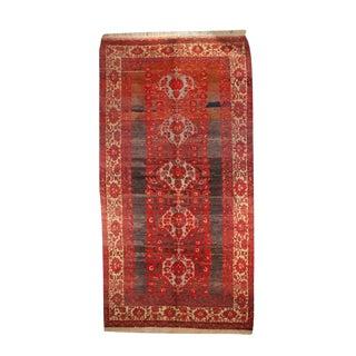 "Early 20th C. Turkish Anatolian Carpet - 5' x 9'9"""