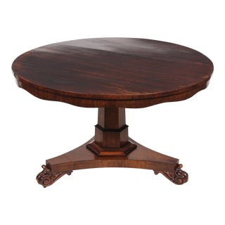 1840s Regency Style Rosewood Table