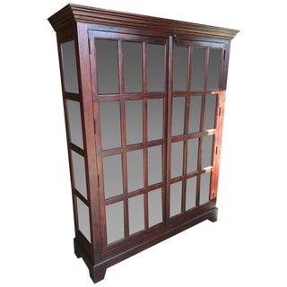 Crate & Barrel Faulkner Library Cabinet