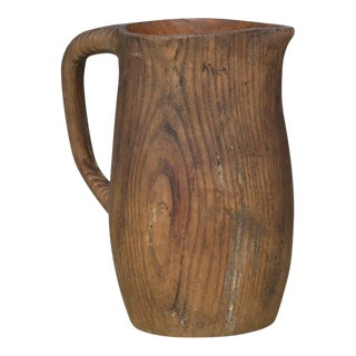 French Water Pitcher in Oak