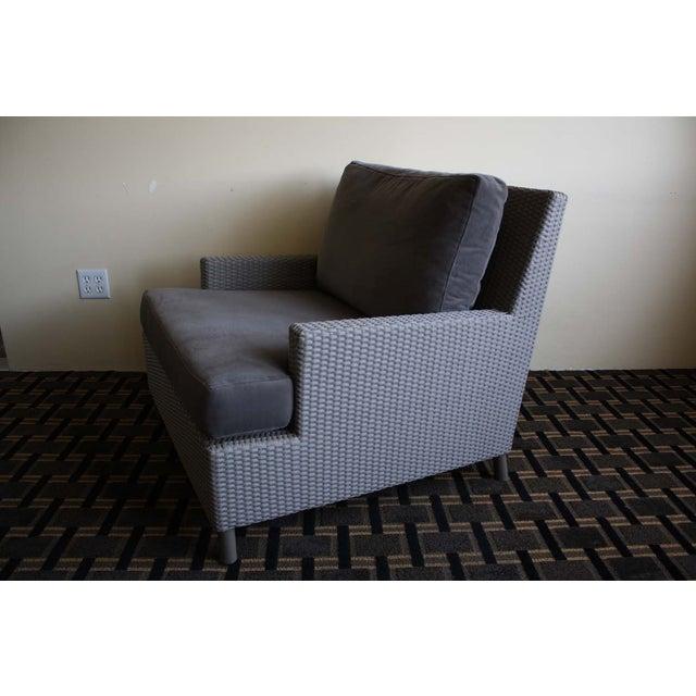 Barbara Barry Plateau Lounge Arm Chair - Image 3 of 5
