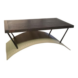 Trommel Metal Coffee Table