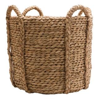 Hudson Grace Large Round Woven Basket