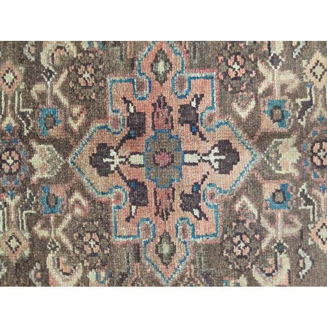 Image of Vintage Hamadan Persian Rug - 1′11″ × 2′11″