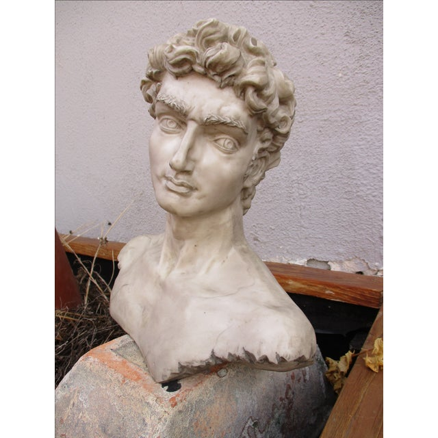 Image of Neoclassical Vintage Cast Resin Bust