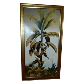 Two Framed Prints of Tropical Plants