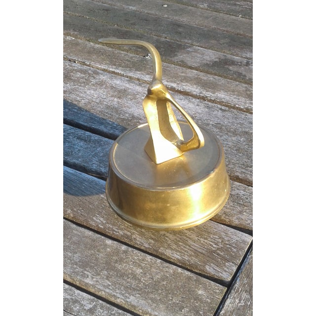 Mid Century Solid Brass Seagull Music Box - Image 3 of 6