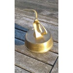 Image of Mid Century Solid Brass Seagull Music Box