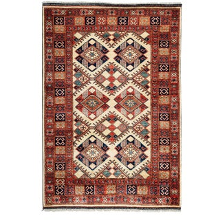"Ziegler, Hand Knotted Area Rug - 4' 0"" x 5' 10"""