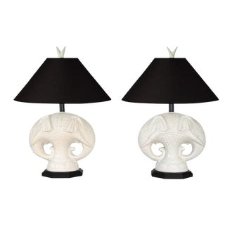 Royal Haeger Elephant Table Lamps