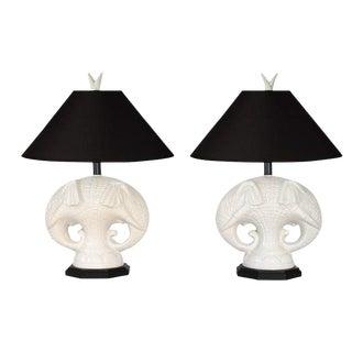 Royal Haeger Elephant Table Lamps