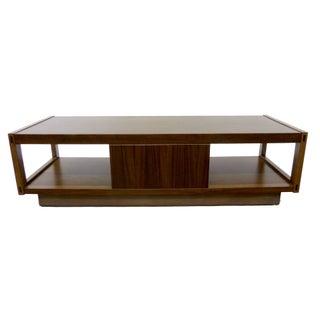 Architectonic Walnut Coffee Table by Lane