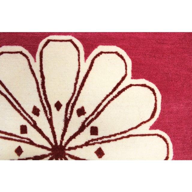 "Madeline Weinrib Pink ""Medina"" Rug - 4' x 6' - Image 6 of 9"
