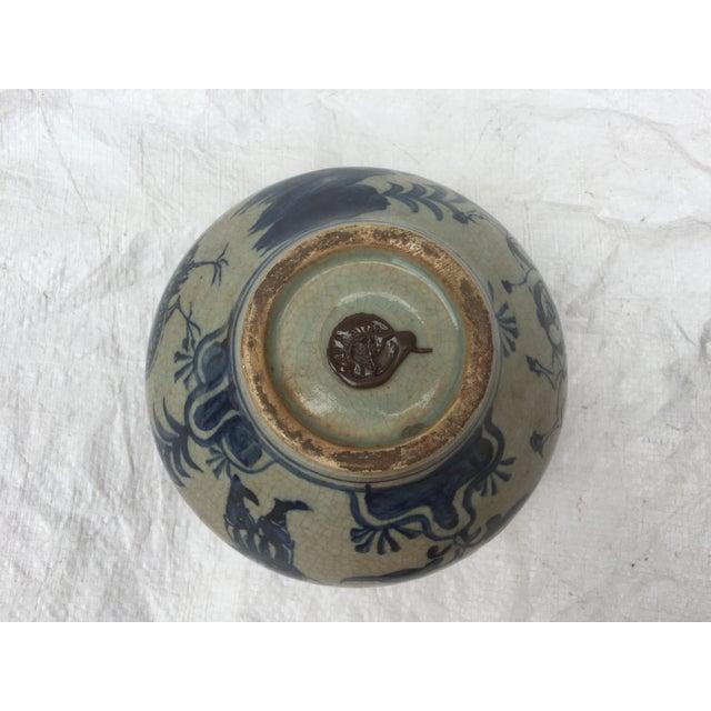 Chinese Warrior Decorative Bowl - Image 6 of 7
