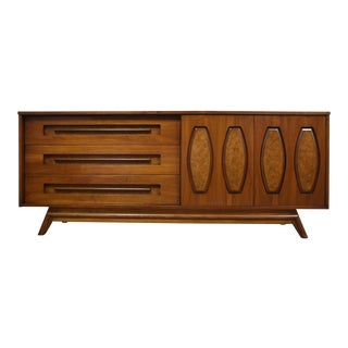 Walnut & Burl Young Dresser