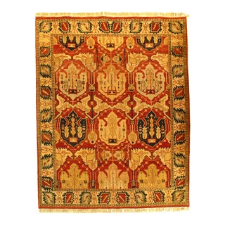 Pasargad N Y Fine Agra Hand-Knotted Rug - 8' X 10'1""
