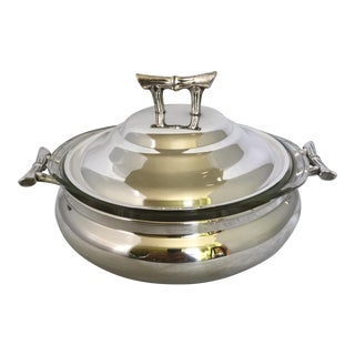 Silver Plated Covered Casserole Dish