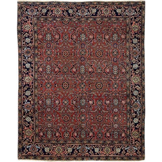 An Antique Heriz Rug