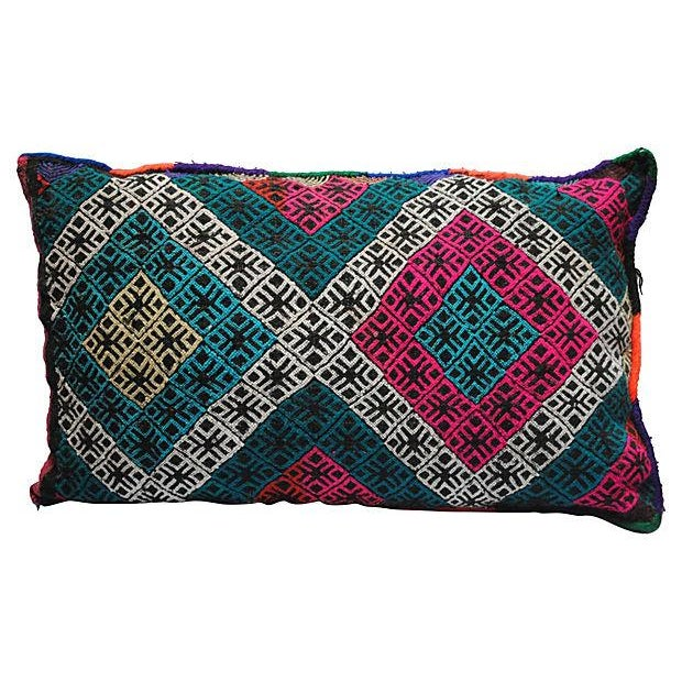Multicolor Berber Pillow - Image 1 of 4