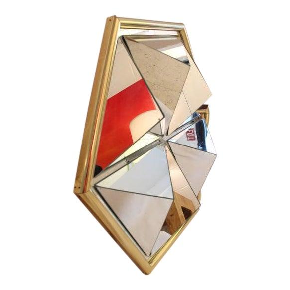 Mid-Century Modern Prism Mirror - Image 1 of 7
