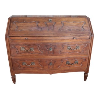 French Louis XVI Drop Leaf Desk