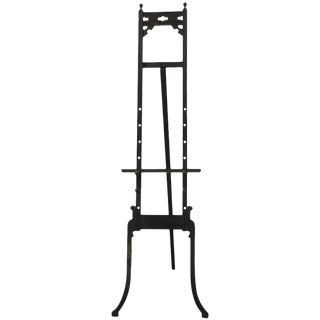 Arts & Crafts Ebonized Studio Art Easel