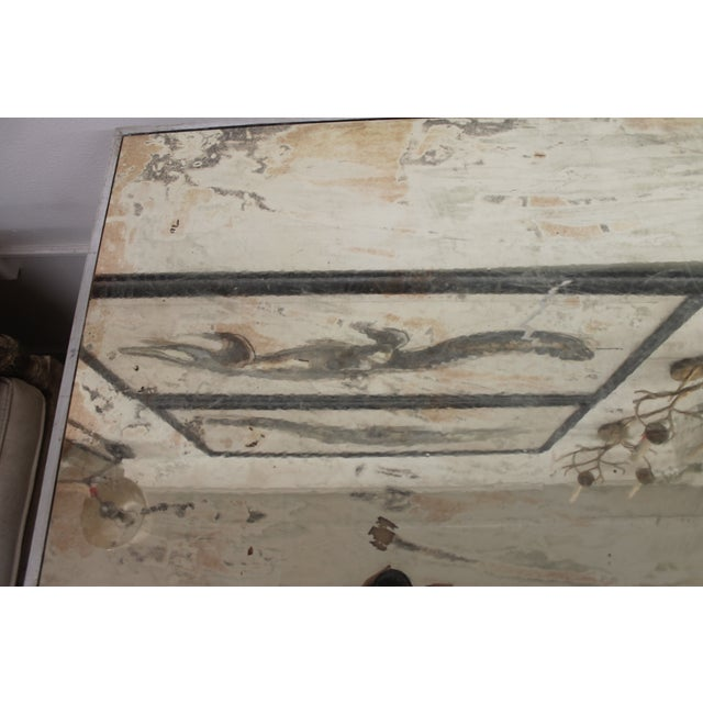 Image of Antiqued & Mirrored Console Table