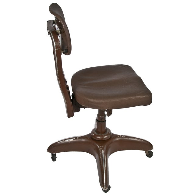 Vintage Goodform Stenographer's Office Chair - Image 4 of 4