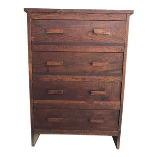 Rustic Antique Wood Dresser