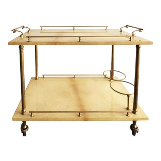 Superb Small Bar Cart from Aldo Tura