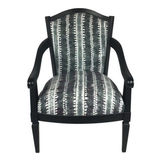 Hand Dyed Shibori Side Chair