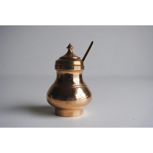 Vintage Salt & Pepper Shakers and Mustard Jar - Image 4 of 4