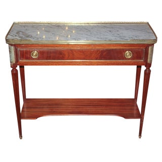 French Directoire Console