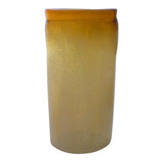 Murano Glass Scavo Blizzard Vase