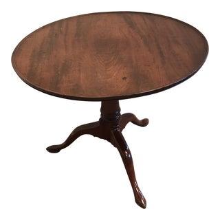 Antique Georgian/Queen Anne Style Tilt Table