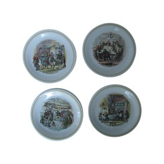 Wood & Sons Pickwick Papers Plates - 9