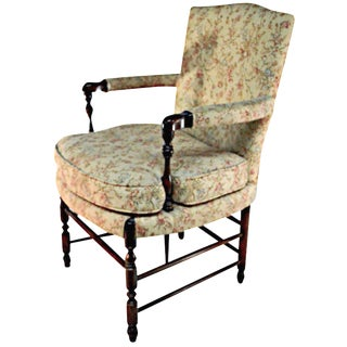 Poltrona French-Style Upholstered Chair