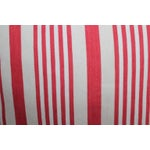 Image of 19th Century Red Ticking Pillows, Pair