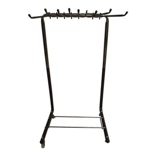 Mid-Century Wheeled Organizer Pant Trolley