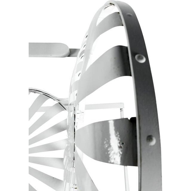 Francois Carre Vintage Sunburst Cantilevered Chairs - A Pair - Image 10 of 11