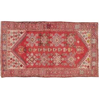 "Turkish Konya Vintage Rug - 3'5"" X 5'10"""