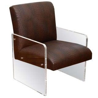 Modern Lucite Chair