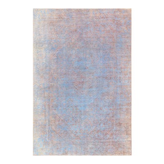 "Pasargad Vintage Overdyed Wool Area Rug - 6' 3"" X 9' 5"""