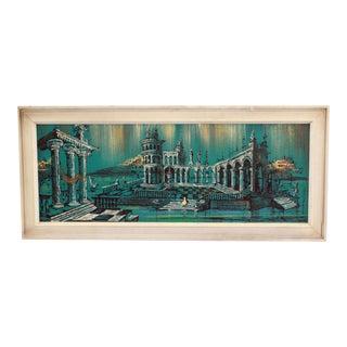 Vintage Van Hoople Original Oil Painting