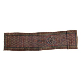 Leon Banilivi Antique Persian Runner - 3' X 17'6""