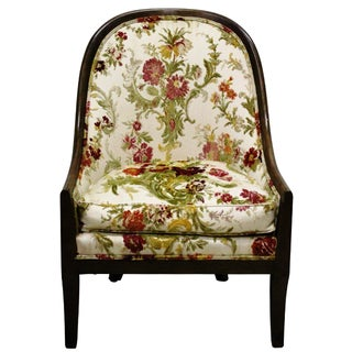 Baker Floral Tapestry Chair
